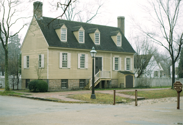 Bryan House, Williamsburg, Virginia