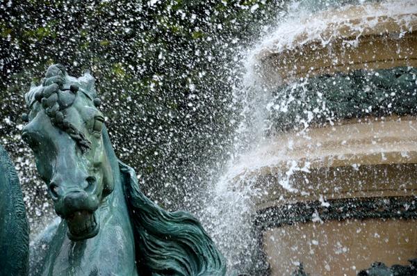 Fontaine de l'Observatoire, Jardin du Luxembourg, Paris, 2012