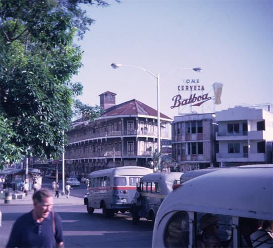 My father, Balboa, Panama