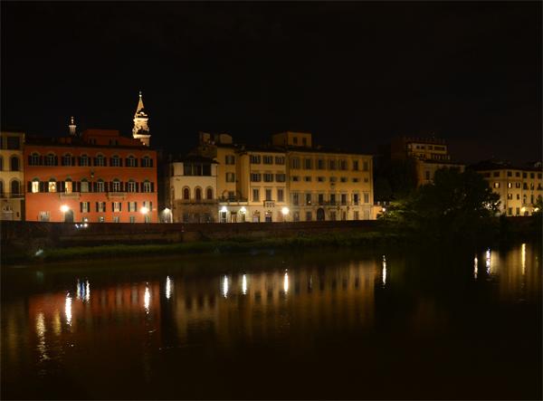 View from Ponte Santa Trinita