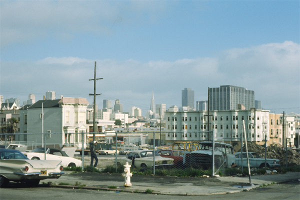 Hayes and Buchanan, Fillmore District, San Francisco
