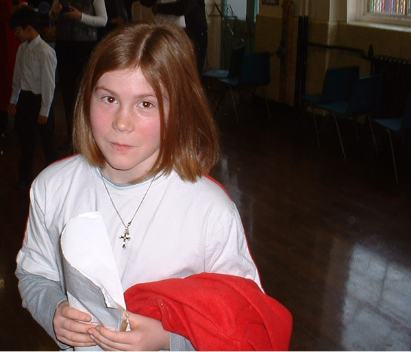 Holly McSweeney, Fox Primary School, Notting Hill