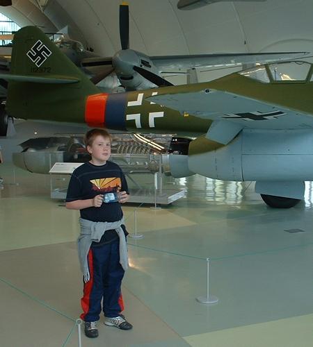 Jack McSweeney, RAF Museum Hendon