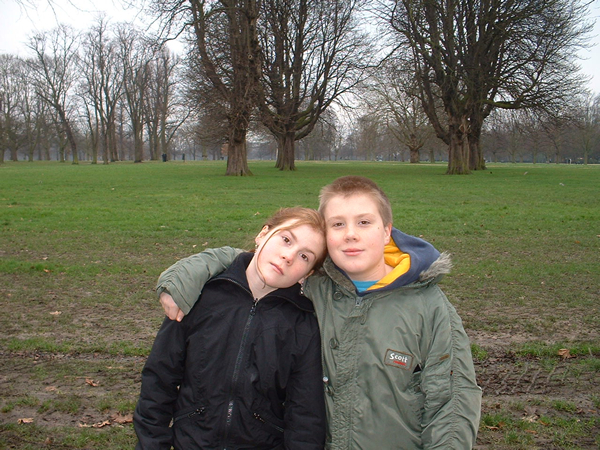 Jack and Holly McSweeney, Kensington Gardens