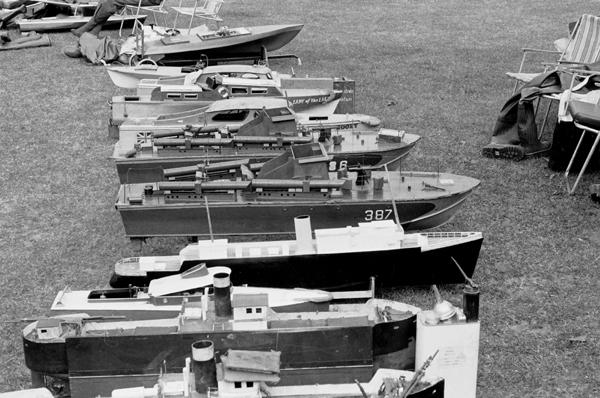 Model Boats, Blackheath, London