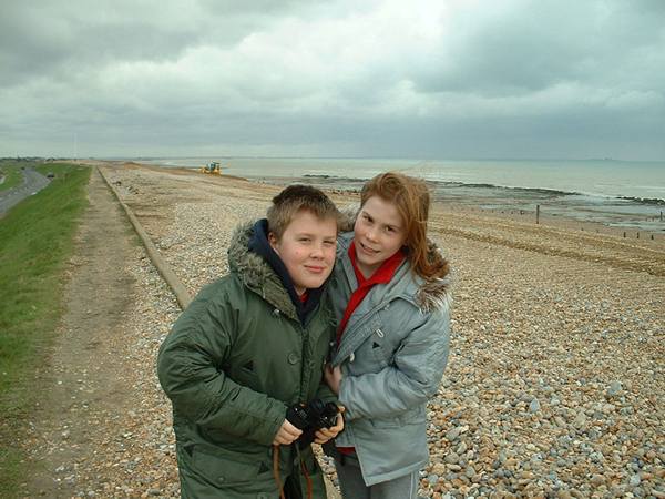 Jack and Holly McSweeney, Near Hastings