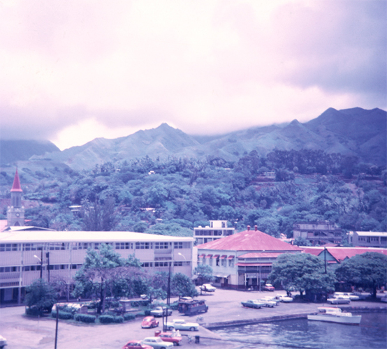Papeete, Tahiti,