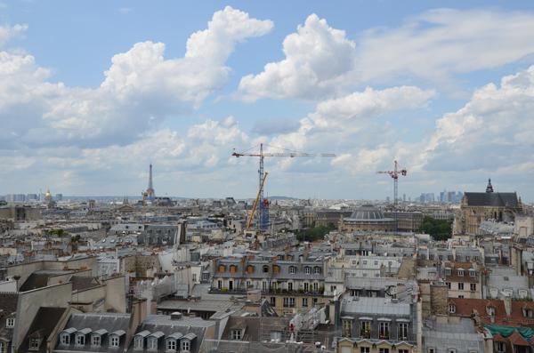 Rooftops, Paris, 2012