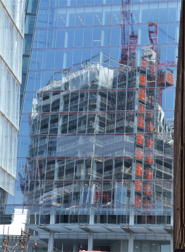 Reflections in the Shard