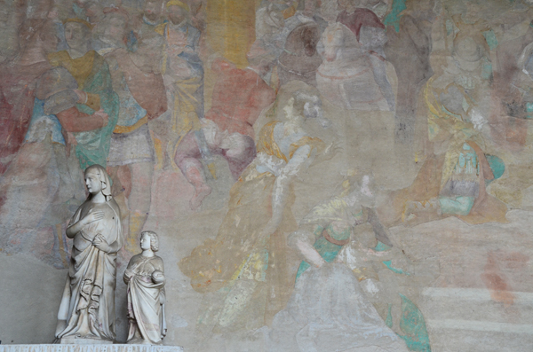 Sculpture and Wall Painting, Museo delle Sinopie, Pisa