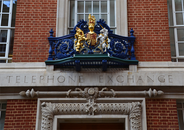 Sloane Telephone Exchange, Sloane Terrace