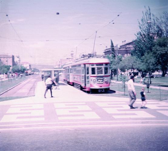 Trams, Victoria Square, Adelaide
