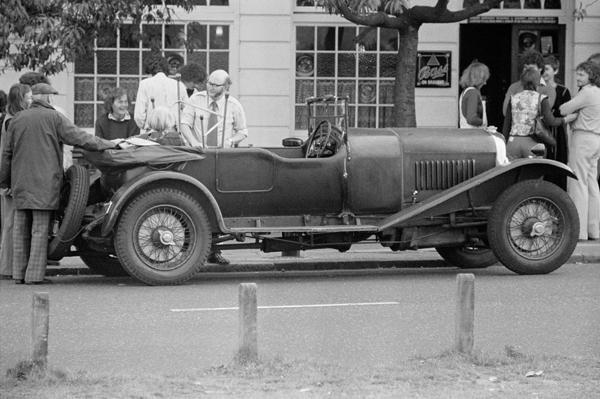 Vintage Car, Blackheath, London