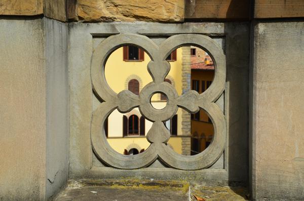 Ballustrade, Uffizi Gallery, Florence
