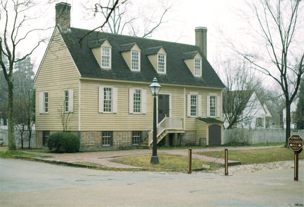 Bryan House, Williamsburg, Virginia