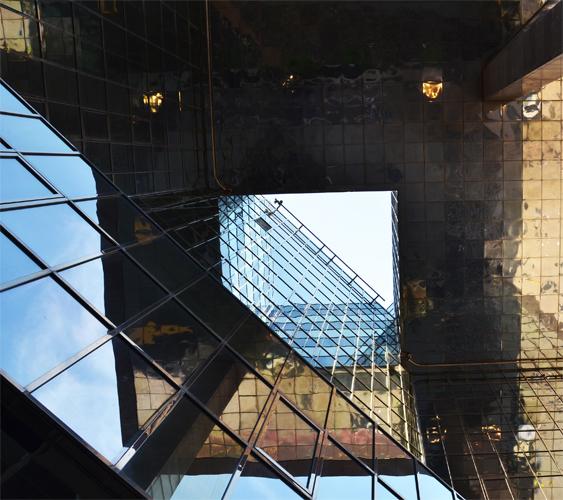 View beneath No.1 London Bridge Building