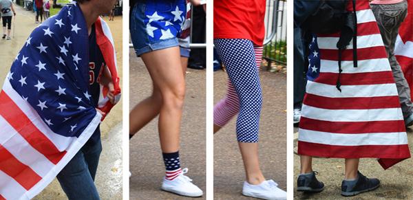 Stars and Stripes, XXX Olympiad