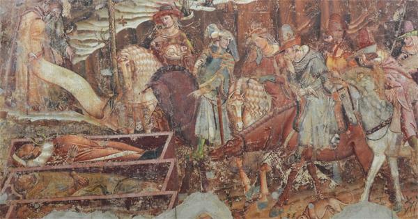 Triumph of Death, Museo delle Sinopie, Pisa